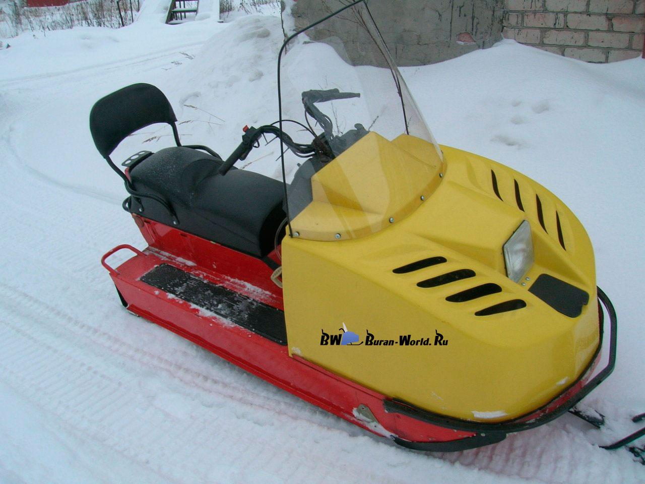 продам бу снегоход тайга