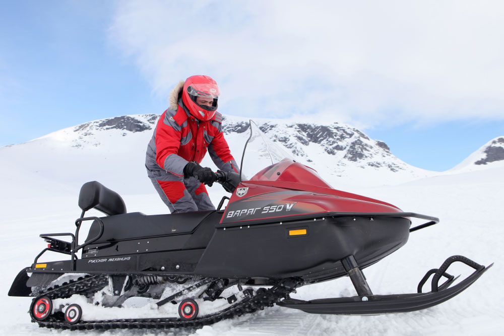 Свременный снегоход «Тайга Варяг 550 V»