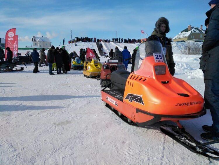 В Нарьян-Маре прошёл кросс на «Буранах», созданных в Рыбинске